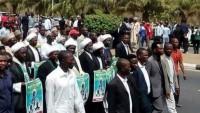 Nijerya halkı Şeyh Zakzaki'ye desteğe devam etti