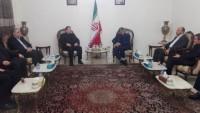 Salih Aruri Başkanlığındaki Hamas Heyeti, İran'ın Lübnan Büyükelçiliğine Giderek Şehid Kasım Süleymani İçin Taziye Verdiler