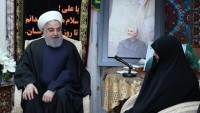 Hasan Ruhani: Tümgeneral Süleymani'nin kanını yerde bırakmayacağız
