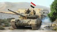 Suriye Ordusu İdlib'in Serakib Kasabasına Girdi