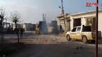 Serakib şehri Suriye ordusunun kontrolüne geçti