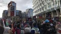 "Londra'da ABD'nin ""Yüzyılın Anlaşması"" protesto edildi"