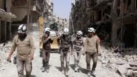 Beyaz Miğferlerin İdlib'deki Sahte Video Çekimleri Bitti
