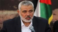 Hamas Lideri İsmail Heniyye: Direnişin Silahı Pazarlık Konusu Edilemez