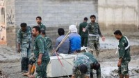 İran Devrim Muhafızları'nın Sel Mağduru Afetzadelere Yardımı Devam Ediyor
