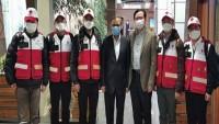 Çin'den bir grup uzman hekim Tahran'a geldi