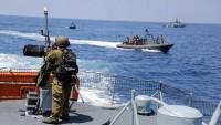 Siyonist rejimin savaş gemileri, Lübnan'ın deniz sahasını ihlal etti