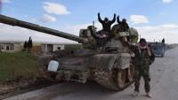 Suriye Ordusu İdlib-Halep-Şam Yolunu Teröristlerin İşgalinden Kurtardı