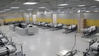 İran İslam Cumhuriyeti Ordusu 2 Bin Yataklı Hastane Kurdu