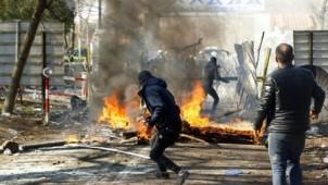 Yunanistan sınırında mültecilere polis saldırısı
