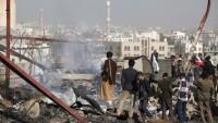 Katil Suudi Güçleri, Hudeyde'de Yerleşim Alanlarını Bombaladı