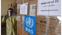 WHO tarafından İran'a gönderilen 7. İlaç sevkiyatı Tahran'a ulaşıldı