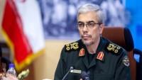 İran Genelkurmay Başkanı: ABD'nin Bölgedeki Askeri Faaliyetlerini Anbean İzliyoruz