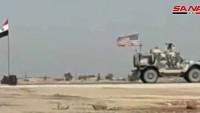 Haseke'nin Güneyinde Terörist Amerikan İşgal Kuvvetlerine Ait Araç Meçhul Kişilerce Saldırıya Uğradı