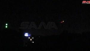 Suriye hava savunması Siyonist rejim saldırısına karşı koydu