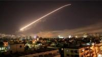 Suriye hava savunması Siyonist İsrail füzelerini düşürdü