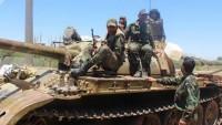 Suriye Ordusu Askeri Mevzilerine Saldırmaya Çalışan Nusra Teröristlerini Pusuya Düşürdü: 7 Ölü