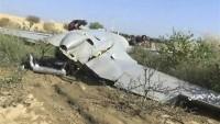 Yemen Hizbullahı Ateşkes Anlaşmasını Çiğneyen Siyonist Suud İşgalcilerine Ait Bir İHA'yı Düşürdü
