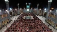 İran'da Kadir geceleri etkinlikleri düzenlendi