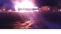 Suud rejimi Yemen'de gümrük merkezini vurdu