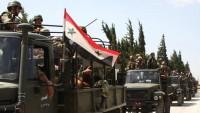 Suriye Ordusu Ateşkes Anlaşmasını Bozarak Bir Köyü İşgal Eden Teröristleri Ağır Silahlarla Vurarak Geri Püskürttü