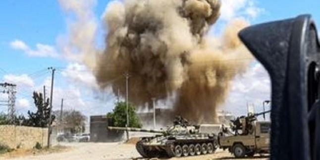 Libya'da Türkiye'ye ait hava savunma sistemi imha edildi