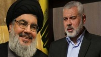 Hamas Lideri İsmail Haniyye'den Hasan Nasrallah'a Mektup