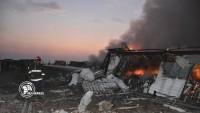 Bağdat el Sagar Üssü'ndeki patlamanın detayları açıklandı