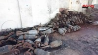 Suriye'de Teröristlere Ait Büyük Miktarda Silah Ve Mühimmat Ele Geçirildi