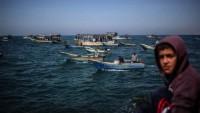 Siyonist Rejim Balıkçılara da Huzur Vermiyor