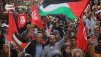 Tunus halkı BAE-İsrail anlaşmasını protesto etti