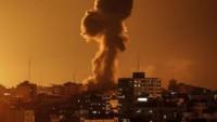 Siyonist İsrail Savaş Uçakları Gazze Direnişçilerine Ait Gözetleme Kulesi İle Bazı Sivil Hedefleri Bombaladı: 1 Kadın Ve 2 Çocuk Yaralandı