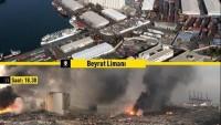 Beyrut'ta Patlamanın Yaşandığı Bölgenin Öncesi Ve Sonrası
