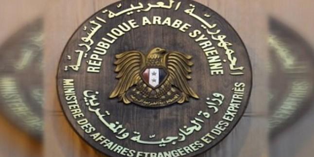 Suriye'den Trump'ın Beşar Esad'la ilgili tehdidine sert tepki