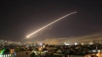 Suriye hava savunma sistemleri ırkçı İsrail'in füzelerini imha etti