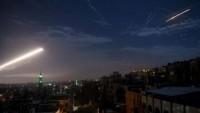 Suriye hava savunma sistemleri siyonist İsrail'in füzelerini vurarak, saldırıyı etkisiz hale getirdi