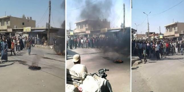Haseke'de İşgalci ABD Güçleri Protesto Edildi