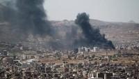 Suudi savaş uçakları Yemen'in Sana vilayetini bombaladı