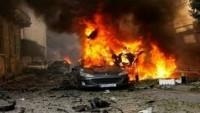 IŞİD Teröristlerin İçinde Bulunduğu Aracın Patlatılması Sonucu 4 Terörist Öldü