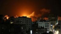 İsrail Ordusundan Gazze'ye Saldırı