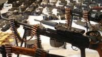 Irak'ta teröristlerin mühimmat deposu bulundu