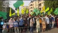 Pakistan'da Fransa karşıtı gösteriler düzenlendi