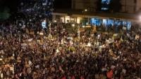 Netanyahu Aleyhindeki Gösteriler Devam Ediyor