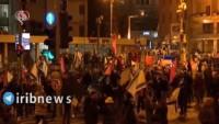 Siyonistlerin Netanyahu'ya karşı protestoları devam ediyor