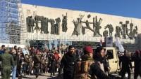 General Süleymani ve el'Mühendis'in şehadet yıldönümünde Bağdat'ta yürüyüş