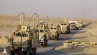 Irak'taki ABD terörist güçleri konvoyuna yeni saldırı