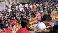 New York'ta Asya kökenli Amerikalılar ırkçılık karşıtı gösteri düzenledi