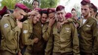 Siyonist bir asker kendini yaktı
