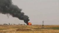 IŞİD Tekfircileri Kerkük'te bir petrol kuyusuna saldırdı