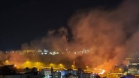 Gazze direnişçileri son iki saat içerisinde Siyonist İsrail'in kasabalarını 35 adet füzeyle vurdu
